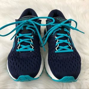 Brooks Running Ravenna 9 Navy Blue Shoes